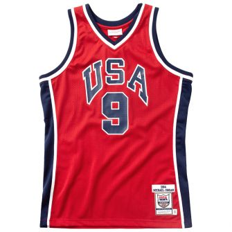 1984 USA BASKETBALL AUTHENTIC ALTERNATE JERSEY - MICHAEL JORDAN