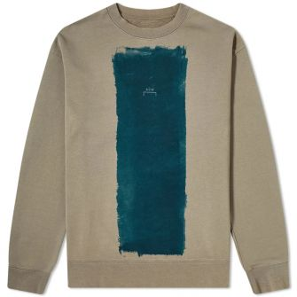 A-COLD-WALL* BLOCK PAINT CREW SWEAT