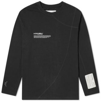 A-COLD-WALL* LONG SLEEVE MISSION STATEMENT TEE