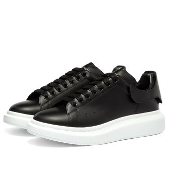 ALEXANDER MCQUEEN REMOVABLE VELCRO PATCH WEDGE SOLE SNEAKER