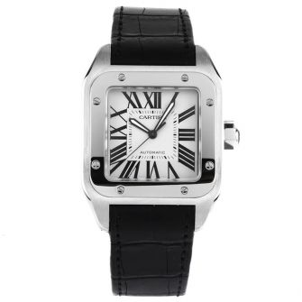 CARTIER SANTOS 100 W20073X8 - 41MM IN STAINLESS STEEL