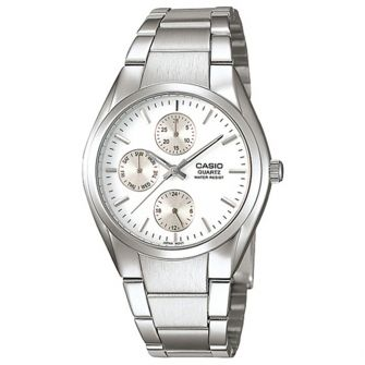 CASIO MTP-1191A-7ADR STAINLESS STEEL STRAP MENS