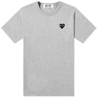 COMME DES GARCONS PLAY BASIC LOGO TEE