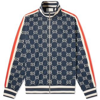 GUCCI ALL OVER GG TRACK JACKET