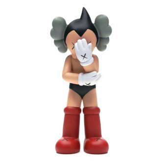 KAWS Astro Boy Vinyl Figure Red