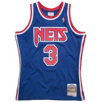 MITCHELL & NESS NBA SWINGMAN JERSEY NEW JERSEY NETS 1992 - 93 DRAZEN PETROVIC #3 ROAD