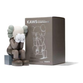 KAWS PASSING THROUGH COMPANION VINYL FIGURE (2013) BROWN