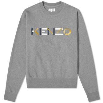 KENZO 3D LOGO CREW SWEAT