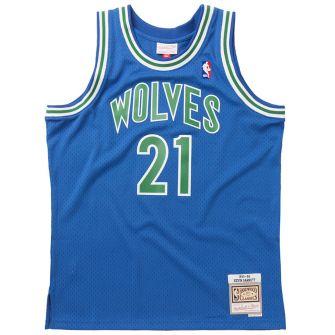 MITCHELL & NESS MITCHELL & NESS NBA SWINGMAN ROAD JERSEY TIMBERWOLVES 95 KEVIN GARNETT