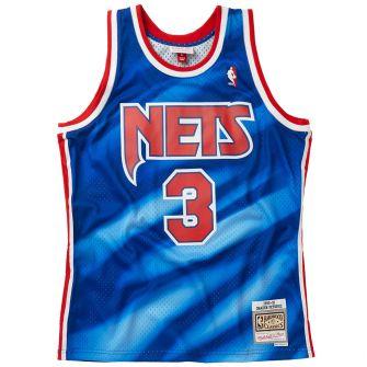 MITCHELL & NESS SWINGMAN JERSEY NEW JERSEY NETS 1990-91 DRAZEN PETROVIC