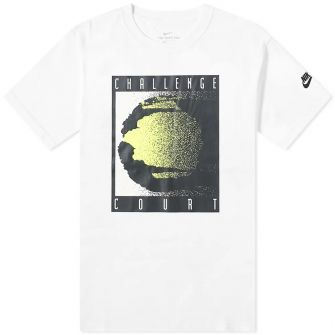 NIKE RE-ISSUE COURT LOGO TEE