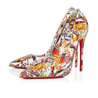 CHRISTIAN LOUBOUTIN SO KATE STRASS FREEDOM 120 MM