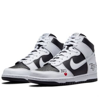 SUPREME X NIKE DUNK HIGH SB 'BY ANY MEANS'