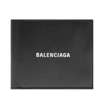 BALENCIAGA LOGO BILLFOLD WALLET
