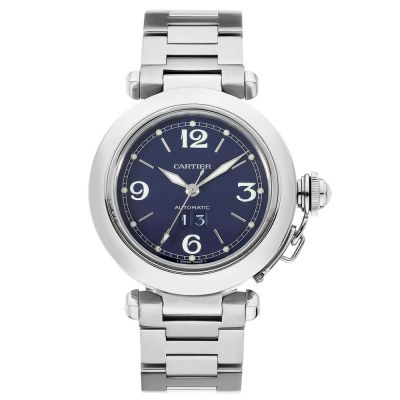 CARTIER PASHA C LARGE DATE W31047M7 - 35MM IN STAINLESS STEEL