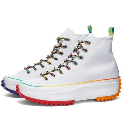 CONVERSE RUN STAR HIKE FIND YOUR PRIDE HIGH TOP W
