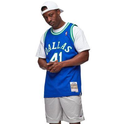 MITCHELL & NESS DALLAS MAVERICKS | DIRK NOWITZKI #41 NBA SWINGMAN JERSEYS 98