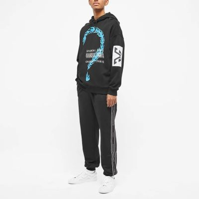 GIVENCHY BURNING QUESTION HOODY