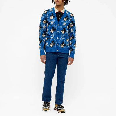 GUCCI ALL OVER MICKEY MOUSE CARDIGAN