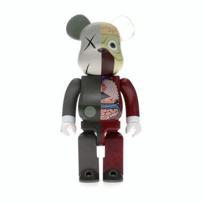 KAWS BEARBRICK DISSECTED 400% BROWN