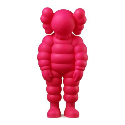 KAWS WHAT PARTY FIGURE PINK