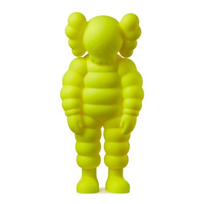 KAWS WHAT PARTY FIGURE YELLOW