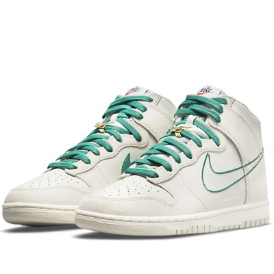 """NIKE DUNK HIGH """"FIRST USE"""" IN GREEN NOISE"""