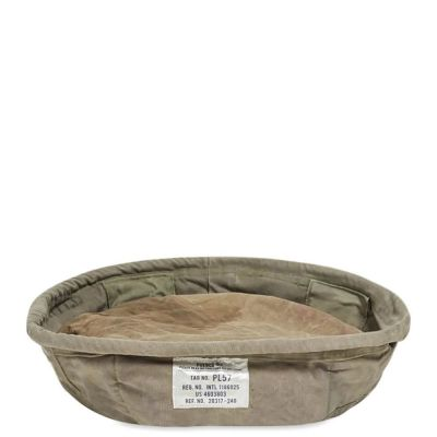 PUEBCO SMALL VINTAGE TENT FABRIC PET BED