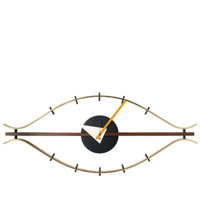 VITRA GEORGE NELSON EYE CLOCK BRASS