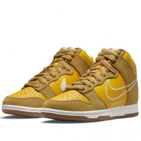 NIKE DUNK HIGH SE 'FIRST USE PACK - UNIVERSITY GOLD'